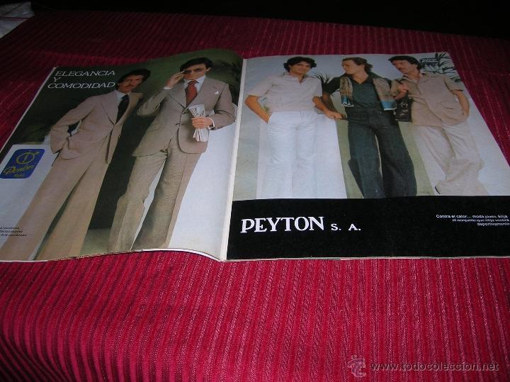 Libros de segunda mano: Revista Galerias Preciados año 1976, moda para hombre - Foto 2 - 53262663