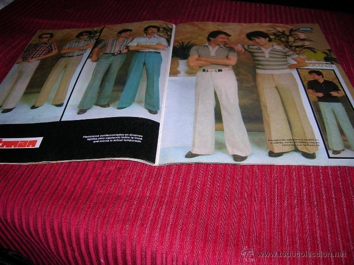 Libros de segunda mano: Revista Galerias Preciados año 1976, moda para hombre - Foto 3 - 53262663