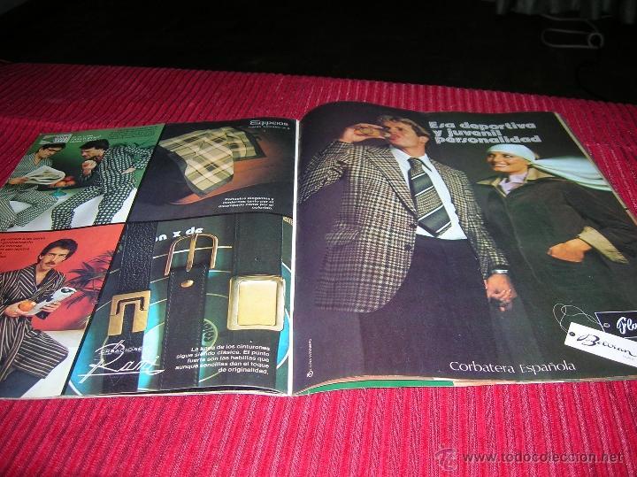 Libros de segunda mano: Revista Galerias Preciados año 1976, moda para hombre - Foto 4 - 53262663