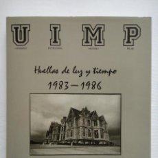 Libros de segunda mano: HUELLAS DE LUZ Y TIEMPO 1983 - 1986. UN LIBRO DE IMÁGENES. PERFECTO ESTADO!!!. Lote 53674019