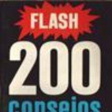 Libros de segunda mano: 200 CONSEJOS PRÁCTICOS. FLASH. EMILE VOOGEL. PETER KEYZER. Lote 53820036