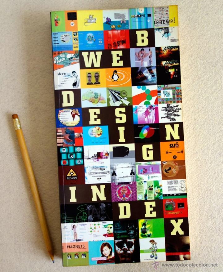 Libros de segunda mano: WEB DESIGN INDEX. CASTELLANO. CON CD. Peppin Press. (Diseño Web) - Foto 2 - 53990352