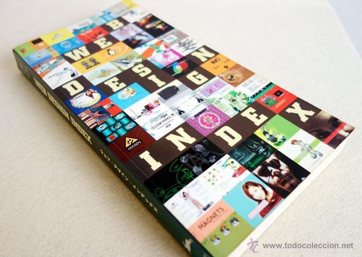 Libros de segunda mano: WEB DESIGN INDEX. CASTELLANO. CON CD. Peppin Press. (Diseño Web) - Foto 8 - 53990352