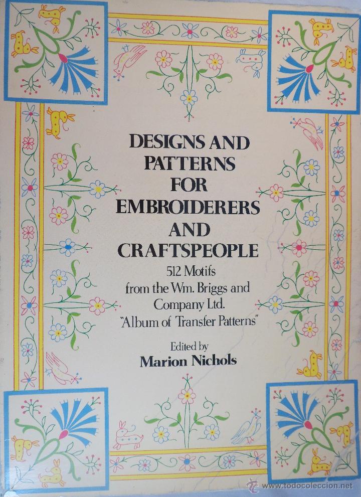 design and patterns for embroiderers...diseños - Comprar Libros de ...