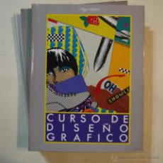 Libros de segunda mano: CURSO DE DISEÑO GRÁFICO 9 TOMOS (COMPLETA) - ORBIS-FABRI - 1989. Lote 54251091