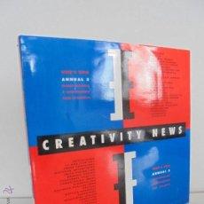 Libros de segunda mano: CREATIVITY NEWS WHO'S WHO ANNUAL 3. DISEÑO INTEGRAL Y COMUNICACION PARA LA EMPRESA. VER FOTOS.. Lote 54457648