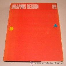 Libros de segunda mano: GRAPHIS DESING 89. RM73320. . Lote 54543074