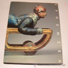 Libros de segunda mano: B. MARTIN PEDERSEN. GRAPHIS EPHEMERA 1. RM73324. . Lote 54543229