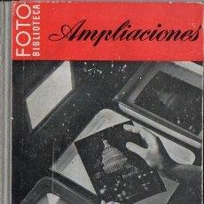 Libros de segunda mano: AMPLIACIONES - FOTO BIBLIOTECA OMEGA). Lote 54805209
