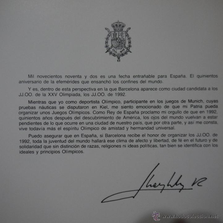 Libros de segunda mano: BARCELONA 92 - LUNWERG - 1984 - Foto 2 - 54911905