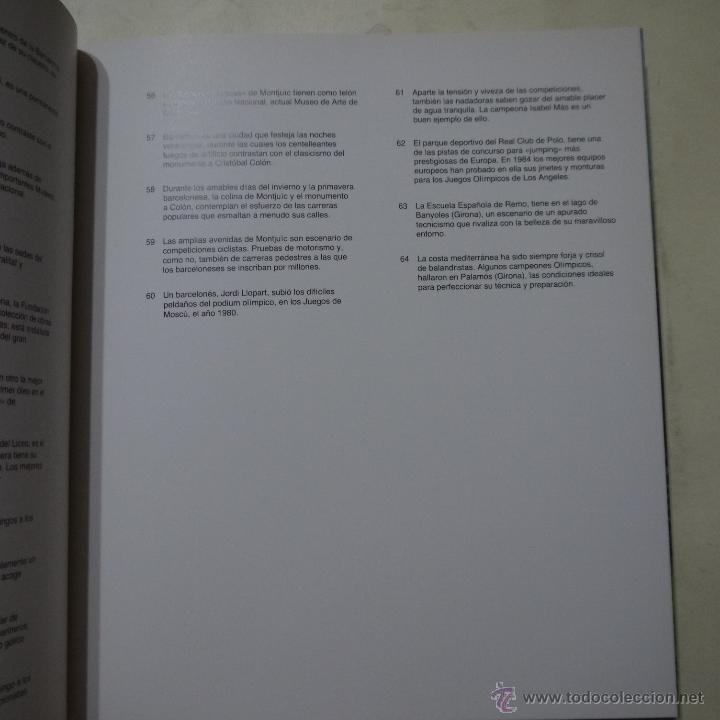 Libros de segunda mano: BARCELONA 92 - LUNWERG - 1984 - Foto 5 - 54911905