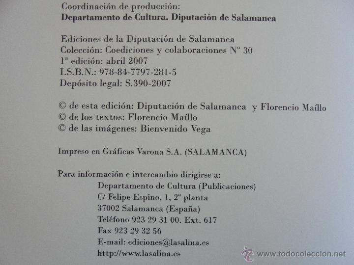 Libros de segunda mano: IDENTIDADES. FLORENCIO MAILLO. CONTIENE CD. 2007. VER FOTOGRAFIAS ADJUNTAS - Foto 9 - 55088117