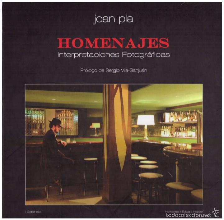 HOMENAJES JOAN PLA (Libros de Segunda Mano - Bellas artes, ocio y coleccionismo - Diseño y Fotografía)
