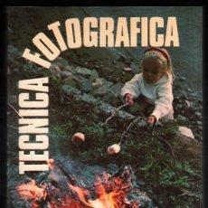 Libros de segunda mano: TECNICA FOTOGRAFICA - ANTOINE DESILETS - ILUSTRADO *. Lote 55703018