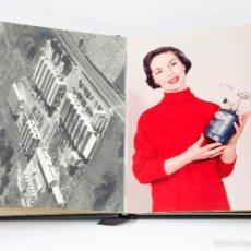 Libros de segunda mano: CAMPING-GAZ, 1955 APROX. FOTOLIBRO CATÁLOGO CON FOTOGRAFÍAS ORIGINALES 18X24CM. MUY RARO.. Lote 56629232