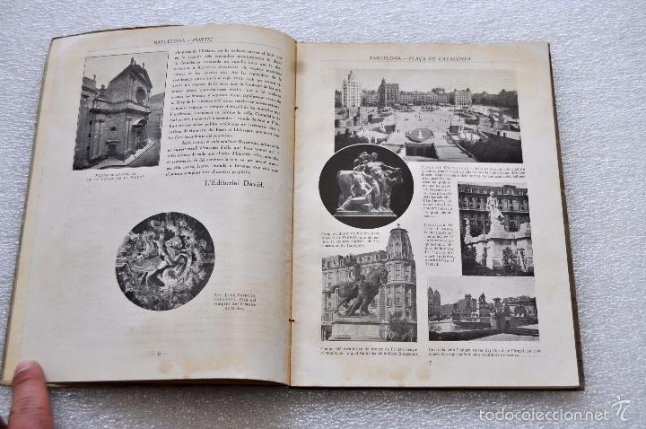 Libros de segunda mano: BARCELONA, LA PERLA DE LA MEDITERRANIA. EDITORIAL DAVID. ILUSTRADO CON 214 FOTOGRAFIAS - Foto 4 - 56731480