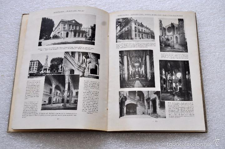 Libros de segunda mano: BARCELONA, LA PERLA DE LA MEDITERRANIA. EDITORIAL DAVID. ILUSTRADO CON 214 FOTOGRAFIAS - Foto 5 - 56731480