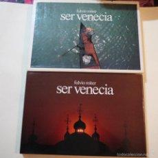 Libros de segunda mano: SER VENECIA - FULVIO ROITER Y ANDREA ZANZOTTO - MAGNUS EDIZIONI - 1980. Lote 57138251