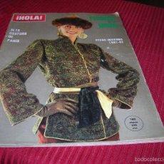 Revista de moda ¡ Hola ¡ Alta Costura de París Otoño - Invierno 1981 - 82