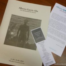 Libros de segunda mano: ALBERTO GARCIA-ALIX CATALOGO EXPOSICION UN HORIZONTE FALSO 2016 MADRID FOTOGRAFIA Y EXTRAS. Lote 186389543