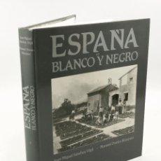 Libros de segunda mano: ESPAÑA EN BLANCO Y NEGRO, J.M. SÁNCHEZ VIGIL -M. DURAN BLÁZQUEZ. ESPASA CALPE, 1991. 26X31CM.. Lote 57482193
