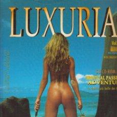 Libros de segunda mano: LUXURIA VOLUMEN 1, 2 Y 4 - LOTE DE 3 LIBROS DE FOTOGRAFIA EROTICA. Lote 57604922