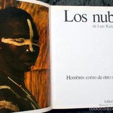 Libros de segunda mano: LOS NUBA - HOMBRES COMO DE OTRO MUNDO - LENI RIEFENSTAHL - AFRICA - FOTOGRAFIAS. Lote 57736799