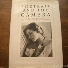 Libros de segunda mano: PORTRAIT AND THE CAMERA: CELEBRATION OF 150 YEARS OF PHOTOGRAPHY ROBERT LASSAM. Lote 57866380
