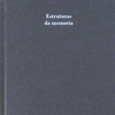 Libros de segunda mano: ESTRUTURAS DA MEMORIA. CASA DA PARRA. SANTIAGO DE COMPOSTELA. Lote 57872934