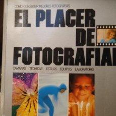 Libros de segunda mano: EL PLACER DE FOTOGRAFIAR - CAMARAS , TECNICAS, ESTILOS , LABORATORIO ..../ MUNDI-564 ,BUEN ESTADO C. Lote 57946829