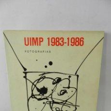Libros de segunda mano: HUELLAS DE LUZ Y TIEMPO 1983-1986 JUAN ANTONIO RODRIGUEZ JUANTXU (1957-1989) UIMP, 1987 DIFICIL. Lote 58146098