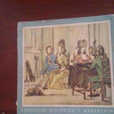 Libros de segunda mano: LIBRO MODAS BARCELONA 1750-1850 - UN SIGLO - BARCELONA HISTORICA Y MONUMENTAL - VER FOTOS. Lote 58349247
