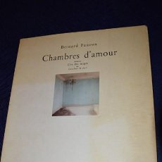 Libros de segunda mano: CHAMBRES D'AMOUR / BERNARD FAUCO. Lote 58382365