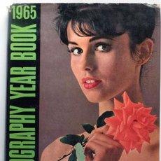 Libros de segunda mano: PHOTOGRAPHY YEAR BOOK 1965, LIBRO CON FOTOGRAFÍAS DE VARIOS FOTÓGRAFOS. Lote 58404601