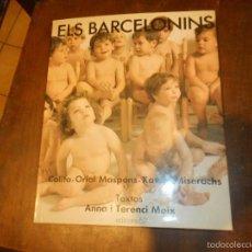Libros de segunda mano: ELS BARCELONINS, PERFECTO ESTADO. Lote 58643932