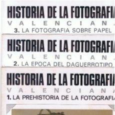 Libros de segunda mano: HISTORIA DE LA FOTOGRAFIA VALENCIANA LEVANTE 16 REVISTAS DESDE Nº 1 HASAT EL Nº 16 MD158. Lote 58805546