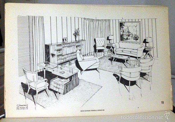 Muebles de hoy 30 proyectos de mobiliario func comprar for Mobiliario anos 50