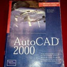 Libros de segunda mano: AUTOCAD 2000 SIN CD. Lote 59934251
