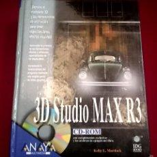 Libros de segunda mano: 3D STUDIO MAX R3 NO LLEVA CD. Lote 59934463