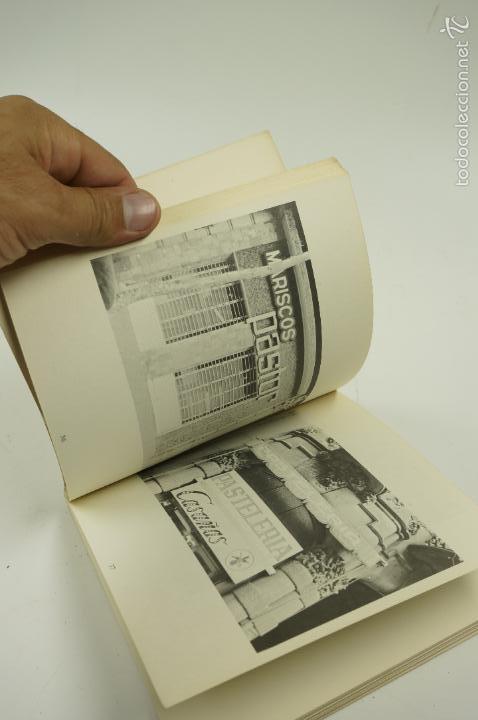 Libros de segunda mano: ARQUITECTURA Y LÁGRIMAS, FOTOGRAFÍAS DE LEOPOLDO POMÉS. TUSQUETS ED. 1975. - Foto 6 - 60421107