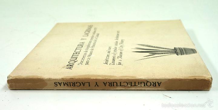 Libros de segunda mano: ARQUITECTURA Y LÁGRIMAS, FOTOGRAFÍAS DE LEOPOLDO POMÉS. TUSQUETS ED. 1975. - Foto 10 - 60421107