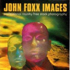 Libros de segunda mano: VESIV REVISTA JOHN FOXX IMAGES COLLECTION VOL 1-2 CON CD. Lote 61007883
