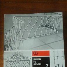 Libros de segunda mano: DISEÑO DE TRABAJOS DE FORJA.ZIMMERMANN.. Lote 61009106