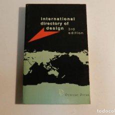 Libros de segunda mano: INTERNATIONAL DIRECTORY OF DESIGN, VOLUM 3 PENROSE PRESS, 2000 DISEÑO DESIGN. Lote 63551912