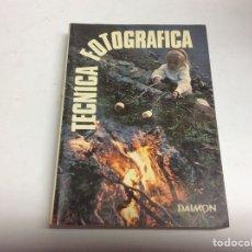 Libros de segunda mano: TÉCNICA FOTOGRAFICA -ED. DAIMON, AÑO 1979. Lote 64170891