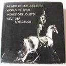 Libros de segunda mano: MUNDO DE LOS JUGUETES. FOTOLIBRO. FOTOSCOP. MARIA LLUÏSA BORRÀS, CLOVIS PREVOST, PRATS VALLÈS. 1969. Lote 64746243