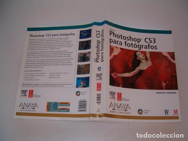 MARTIN EVENING. PHOTOSHOP CS3 PARA FOTÓGRAFOS. RM77401. (Libros de Segunda Mano - Bellas artes, ocio y coleccionismo - Diseño y Fotografía)