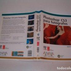 Libros de segunda mano: MARTIN EVENING. PHOTOSHOP CS3 PARA FOTÓGRAFOS. RM77401. . Lote 65930822