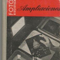 Libros de segunda mano: AMPLIACIONES. FOTO BIBLIOTECA OMEGA. 1963. Lote 66487314
