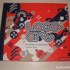 Libros de segunda mano: CHARLOTTE RIVERS. LOGO ART. INNOVATION IN LOGO DESIGN. RMT77478. . Lote 66833326